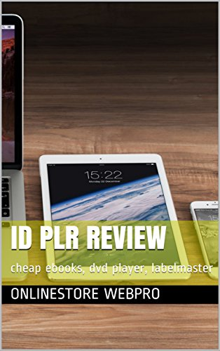 Id Plr Review:  cheap ebooks, dvd player, labelmaster (English Edition)