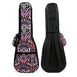 HOT SEAL® 10MM Sponge Padding Durable Colorful ukulele Case Bag with Storage