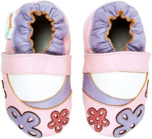 Momo Baby Girls Leather Shoes