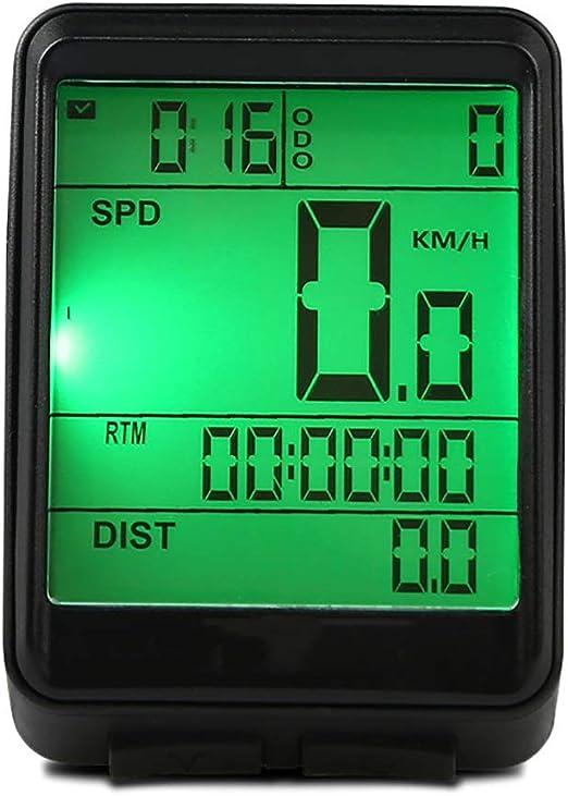 Velocímetro de Bicicleta MTB bicicleta Cronómetro Cronómetro ...