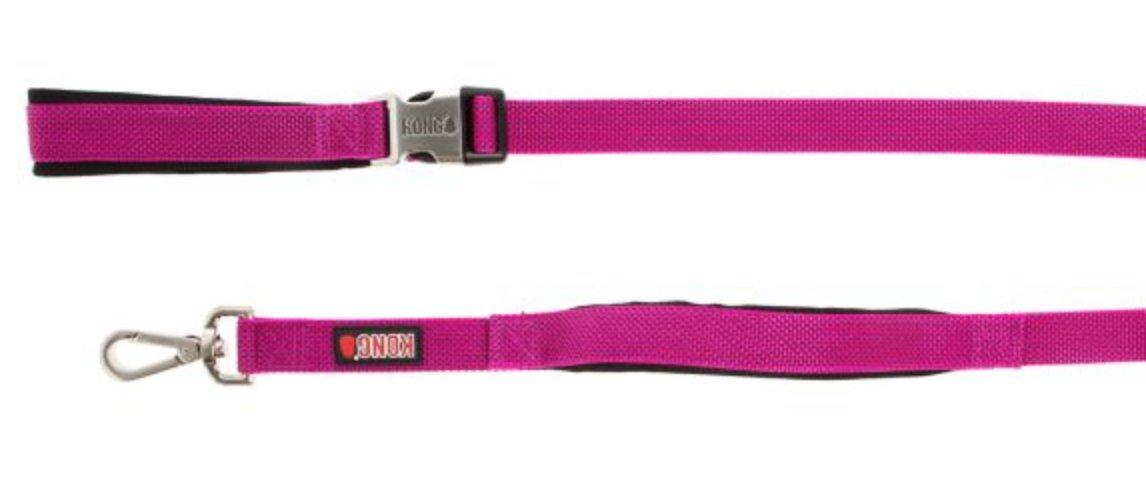 by Barker Brands Inc. Kong Traffic Handle Hands Free Dog Leash 6' (Pink)