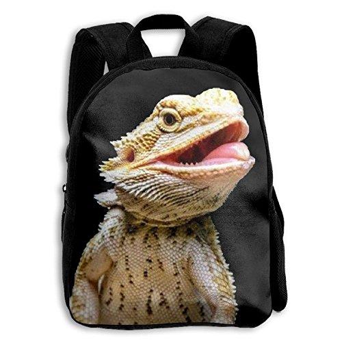 SARA NELL Kids School Backpack Bearded Dragon Liza