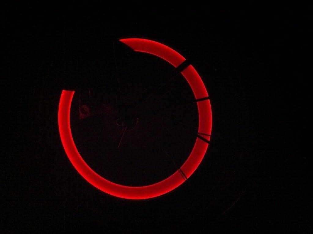 para radios de bicicleta Llantas iluminaci/ón rojo//–/RBrothersTechnologie 2/pieza vibrantes V/álvula con iluminaci/ón LED