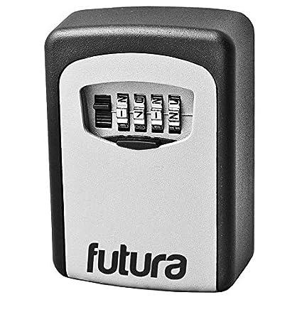 5a732ae0bb10 Futura® Caja fuerte de pared para llaves - Para exteriores - 4 dígitos de  seguridad