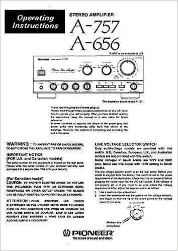 tdk instruction manual