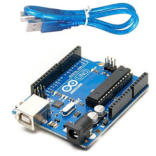 Devbattles | Arduino Uno R3 - Microcontroller Board Based on ATmega328 Original & USB (Arduino Usb Board)