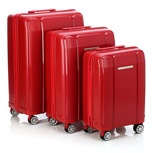 ALPINI Luggage Set, red (Red) - KEPLIUM ROUGE
