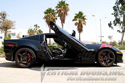 Vertical Doors - Vertical Lambo Door Conversion Kit for Chevrolet Corvette C6 ZLR 2005-2013 - Vertical Lambo 2010 Doors
