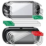 Insten 3 packs Reusable Screen Covers Compatible With Sony PlayStation Vita PCH-1000 (PS Vita)