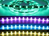 RGB LED Strip | IP68 - 12v, WaterProof, Black PCB, 5M, 150LED