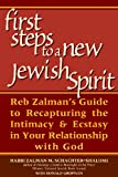 The First Steps to a New Jewish Spirit, Zalman Schachter-Shalomi and Donald Gropman, 1580231829