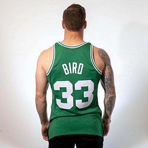 info for fc070 a07f9 Mitchell & Ness Replica Swingman NBA Jersey HWC 33 Larry Bird Boston  Celtics Basketball Trikot