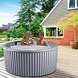 Essential Hot Tubs 20-Jet 2020 Arbor Hot Tub, Seats 5-7, Gray Granite