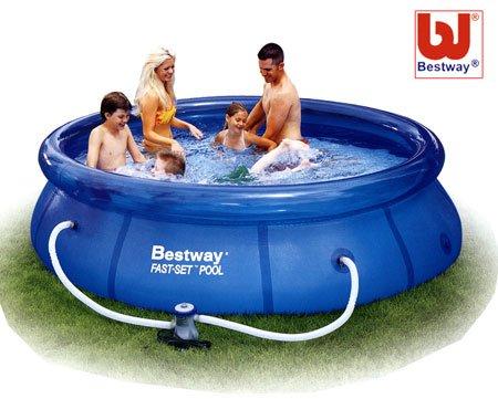 Bestway 90084 Fast set Pool - 3 Meter Diameter by Bestway
