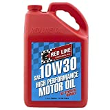 Red Line 11305-4PK 10W30 Motor Oil, 1 gallon, 4 Pack