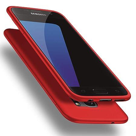 X-level Samusung Galaxy S7 Hülle, [Guardian Serie] Soft Flex Silikon Premium TPU Echtes Telefongefühl Handyhülle Schutzhülle