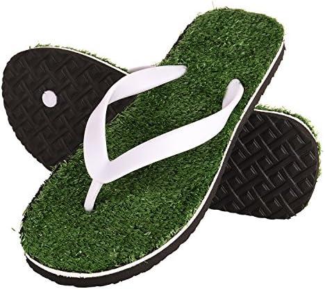 81bfbdddf DRUNKEN Men s Grass Green Flip Flop Fashion Slippers Size 10  Buy ...