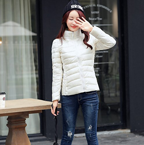 White Light Packable Quilted Sleeve Ultra Women's Jackets FASHION Down HZCX Long Weight p4P1x