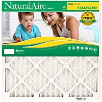 14x25x1, Naturalaire Standard Air Filter Merv 8, 84858.011425, Pack12