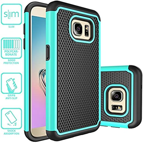S7 Case, Galaxy S7 Case, Style4U Dual Layer Hybrid Armor Protective Case Cover for Samsung Galaxy S7 with 1 Style4U Stylus [Teal] Sales