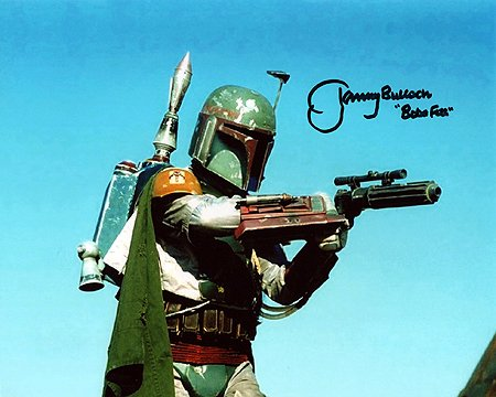 JEREMY BULLOCH (Boba Fett) 8x10 Celebrity Photo Signed In-Person