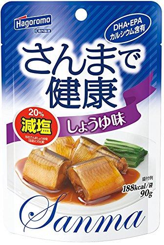 la salsa de soja de la salud en una pica bata (bolsa) piezas 90gX6