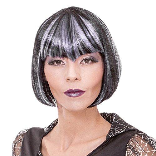 Black Short Vampire Cosplay Wig - 8