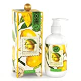 Michel Design Works Hand and Body Lotion 8-Ounce, Lemon Basil