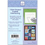 T-Shirt Project Fusible Interfacing 60''X72''-White