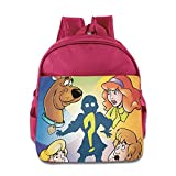 Kids Scooby Doo, Where Are You! School Backpack Cartoon Baby Boys Girls School Bags Pink
