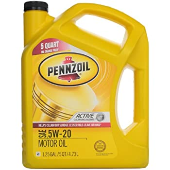 Pennzoil 550038052 3pk sae 5w 20 motor oil for Motor oil api rating
