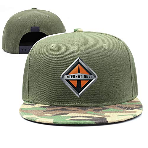 GRFF Unisex Strapback Hat Multicolor Adjustable NAVISTAR-International- Mesh Snapback ()