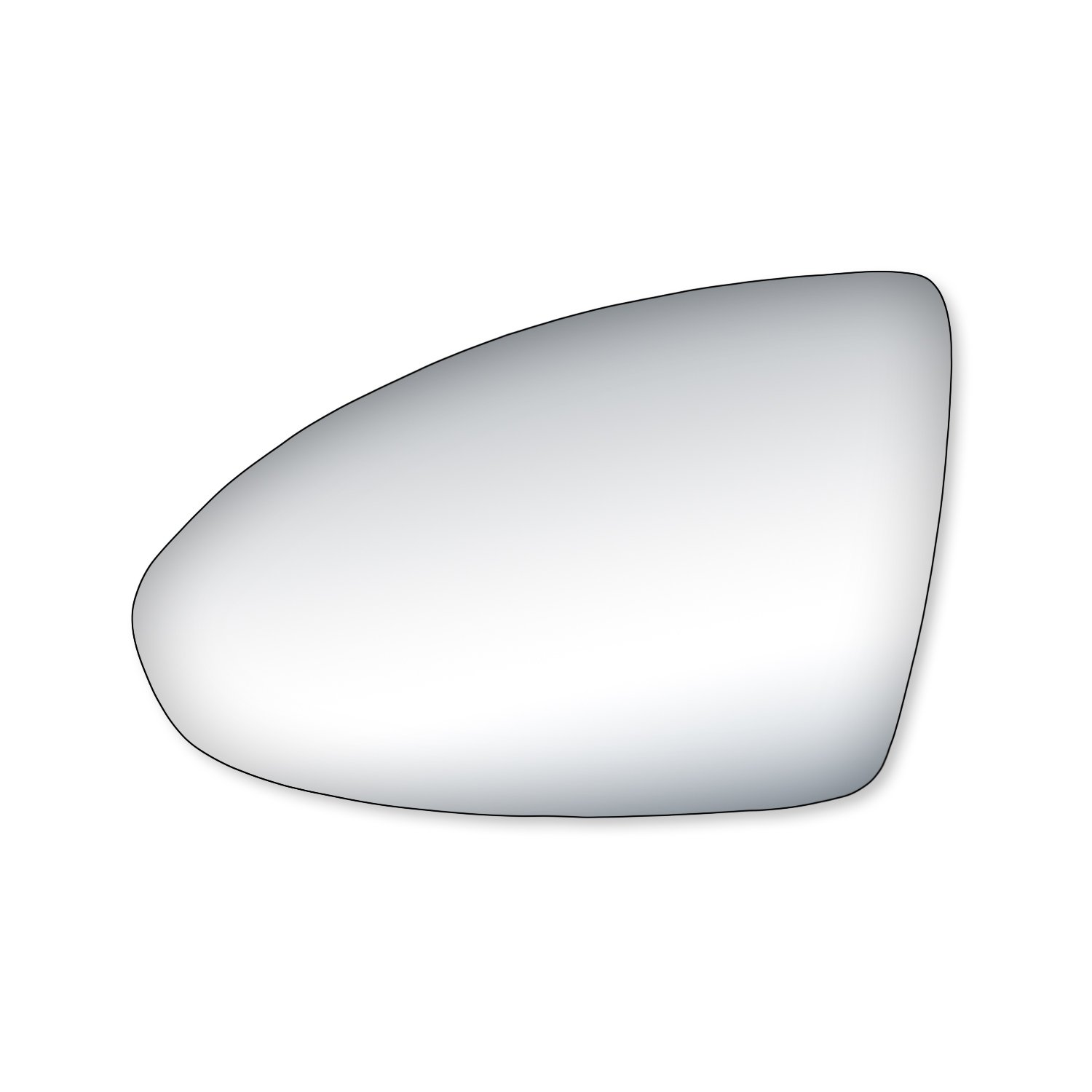 Fit System 90248 Chevrolet Cruze Passenger Side Mirror Glass