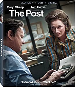 Cover Image for 'Post, The [Blu-ray + DVD + Digital]'