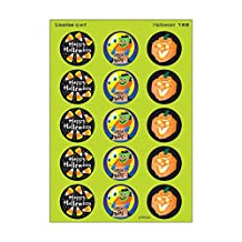 Trend Enterprises Halloween (Licorice) Round Stinky Stickers, Large (T-930)
