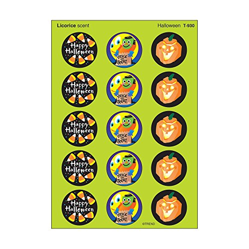 (TREND enterprises, Inc. Halloween/Licorice Stinky Stickers, 60)
