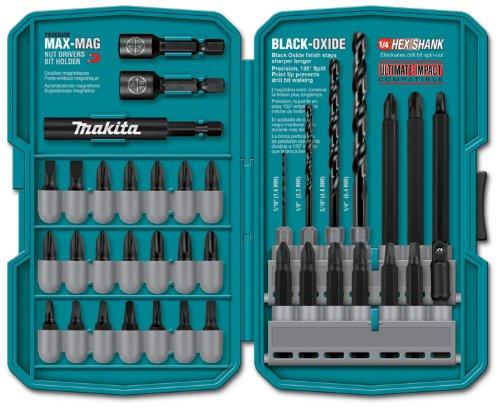 Piece Drill Driver (Makita T-01373 38 Piece Impact Drill-Driver Bit Set)