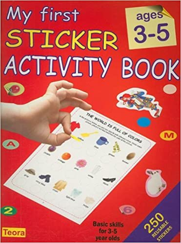 my first sticker activity book ages 3 5 na 9781594961649 amazoncom books