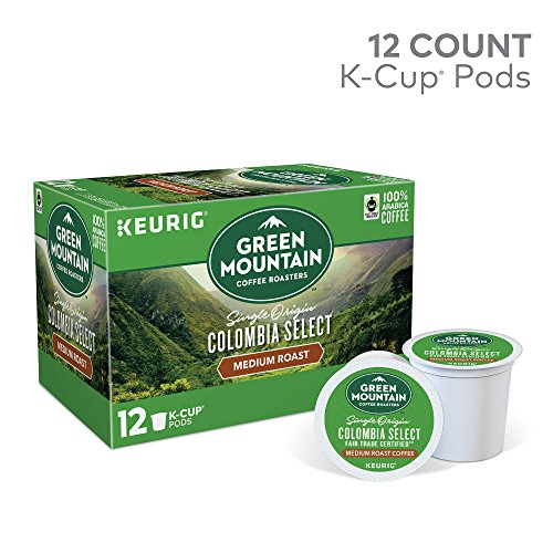 Country-like Mountain Coffee Roasters Colombian Fair Trade Select Keurig Single-Serve K-Cup Pods, Medium Roast Coffee, 12 Count (Away Of 6) ( Pack May Vary )
