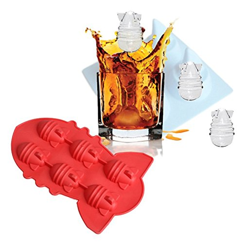 Lucrative shop Summer Drink Party Ice Tray Cool Atomic Bomb Shape Ice Cube Freeze Maker Ice - Christmas Drink Snowball