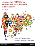 Introduction to Research Methods and Data Analysis in Psychology, Darren Langdridge and Gareth Hagger-Johnson, 0273756877