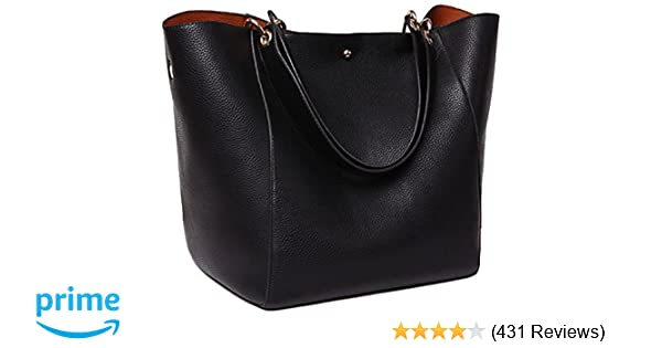 Amazon.com  SQLP Work Tote Bags for Women s Leather Purse and handbags  ladies Waterproof Shoulder commuter Bag Black  Shoes c7e81fdbaa075