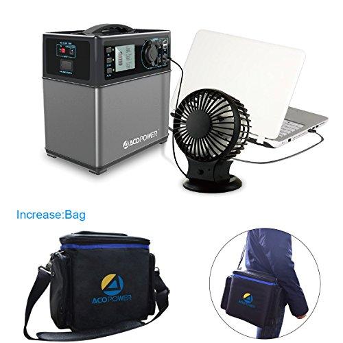 Hy Ps5b Acopower 400wh Portable Solar Generator Power