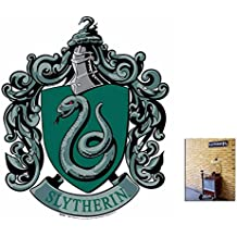 Fan Pack - Slytherin Crest from Harry Potter Wall Mounted Cardboard Cutout - Includes 8x10 Star Photo