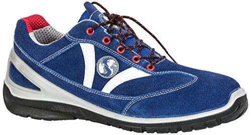 Seba 599CE Langsame Schuh S1P SRC, blau, Größe 37