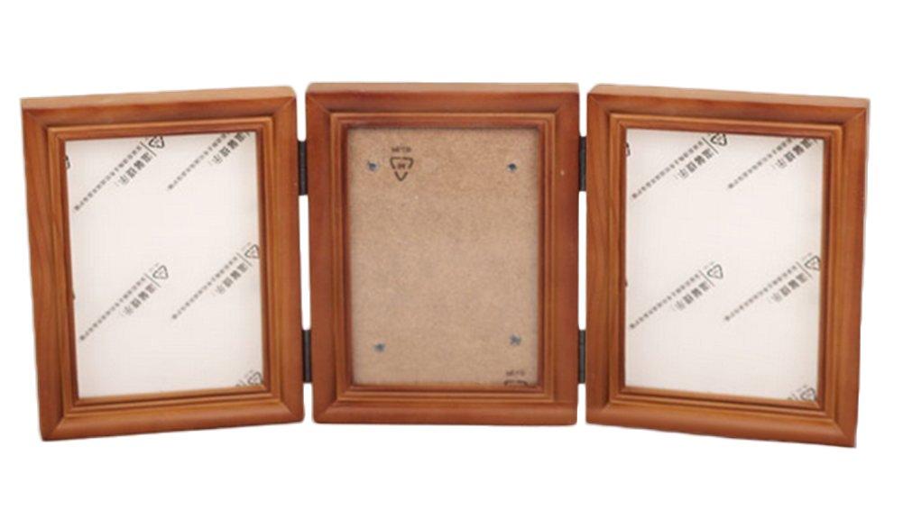 Leisial Marco de Foto Impresión Handprint y Huella Bebé Kit de Fotos Marco de Madera del Mano y Pie Frame Regalo de Recuerdo para Niños Seguro Arcilla No ...