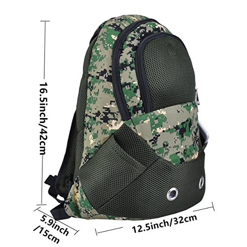 CozyCabin Comfortable Carrier Backpack Camouflage