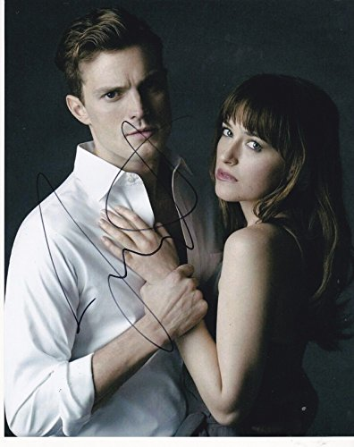 JAMIE DORNAN SIGNED 8X10 PHOTO FIFTY SHADES OF GREY AUTOGRAPH CHRISTIAN GREY E