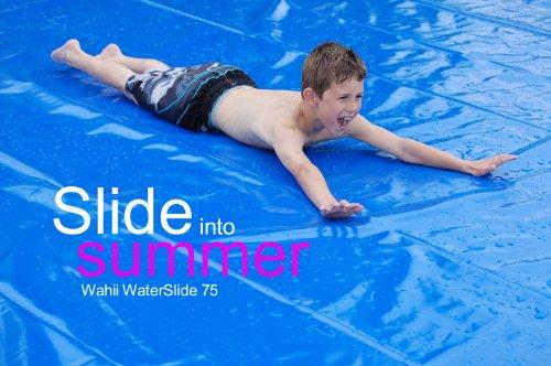 Wahii Waterslide 50 - World's Biggest Backyard Lawn Water Slide!