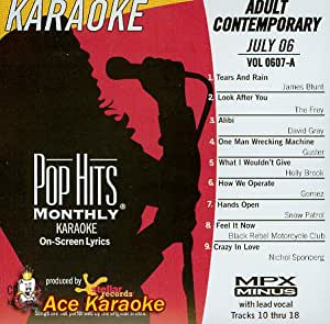 2006 adult contemporary hit karaoke march monthly pop